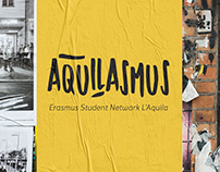 AQUILASMUS STUDENT NETWORK LOGO CORPORATE IDENTITY