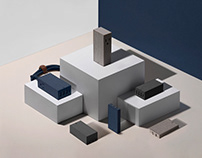 Home Charging Art Direction | NATIVE UNION