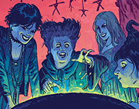 Entertainment Weekly-Halloween Edition Illustration