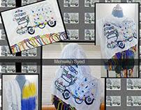 HandMade Emboidery Scarves