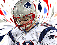 Adobe DRAW : NFL series - Tom Brady