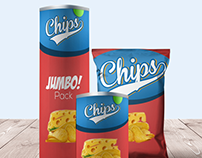 25+ Chips Packaging Mockup Templates for Presentation