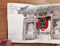 Carnet de voyage - Japan