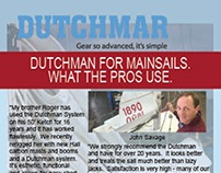 Dutchmar Products- Sail Magazine Ad  April 2015