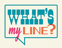 """What's My Line?"" Gallery Show"