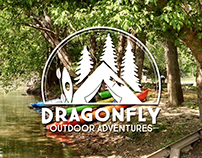 Logo Branding - Dragonfly Outdoor Adventures