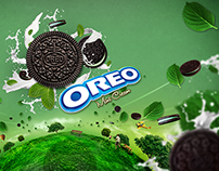 Oreo Mint Cream concept design