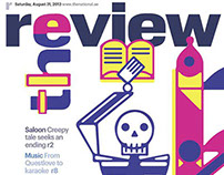the review covers #2