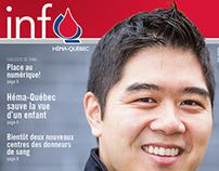 Info-Héma - bulletin annuel d'Héma-Québec 2015