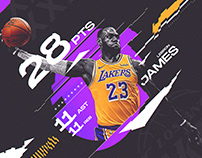 Lebron James #23 | Triple Double | Los Angeles Lakers
