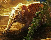 Pulimurugan Movie Poster
