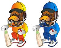BPL t20 cricket mascot