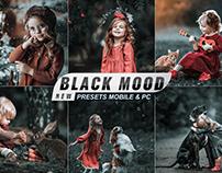 BLACK MOODY