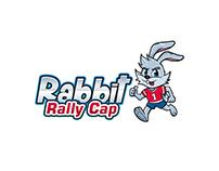 """Rabbit Rally Cap"" Logo + Mascot"
