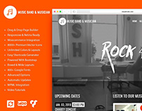 Music WordPress Theme - Features