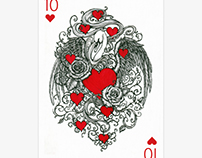 10 of Hearts for PlayingArts contest Special Edition