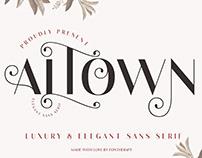 Altown - Sans Serif Font