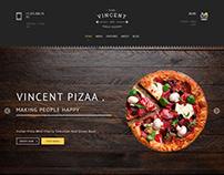 Vincent Foods Web Design