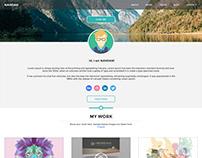 NANDAN - A Simple Single Page Portfolio Template