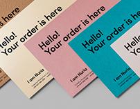 I am Nuria — Branding + Pantotarjetera
