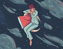 Elusive Sleep - personal work