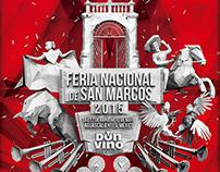 FERIA NACIONAL DE SAN MARCOS 2015 - Cartel Don Vino