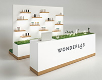 Trade counter for WONDERLAB