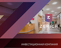 "Presentation for investment company ""Zerich"""