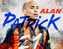 Digital art for Alan Patrick from FC Shakhtar
