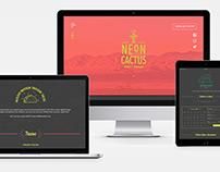 Neon Cactus Taco Truck: Branding + UX/UI