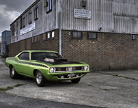 Plymouth Barracuda - American Car Magazine May 2015