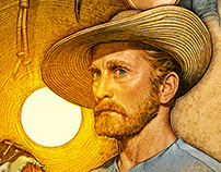 Editorial Illustration: Kirk Douglas