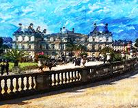 Sénat - Jardin du Luxembourg Paris