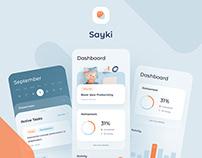 Sayki Productivity & Calendar iOS App