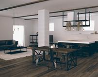 interior project /scene II III