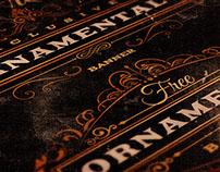 4 Free Oramental Vintage Lables