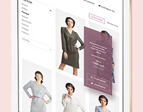 Fabric – responsive fashion online store