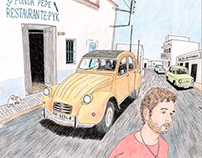 Cars in the Deep Formentera
