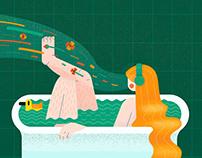 Illustration for Women's International Day