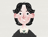 Snape as a child