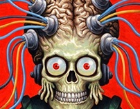 Mars Attacks: The Revenge Illustrations