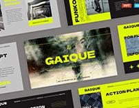 Modern Dark Green Company Portfolio & Profile