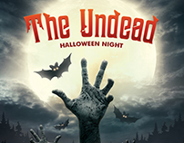 The Undead Halloween Flyer