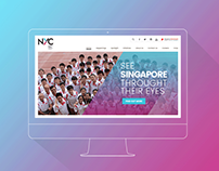 National Youth Council (NYC) Website, Singapore