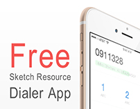 Dialer: Free Sketch app resource