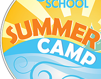 WCBD Cool School Summer Camp Logo
