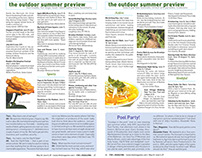 Summer Issue (editorial design)