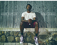 "Mark Battles ""NUMB"" Album Package Design"
