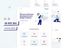 Corporate website Design Template