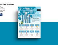 Product sale flyer